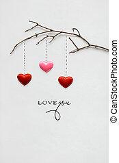 drzewo., miłość