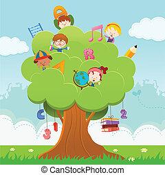 drzewo, nauka