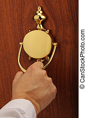 drzwi knocker