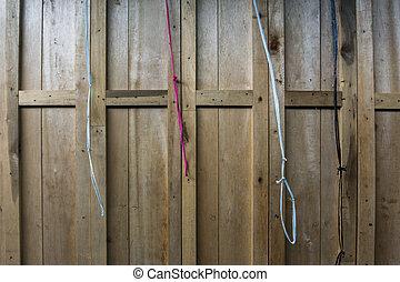 drzwi, płot, próbka, struktura, drewno, tło