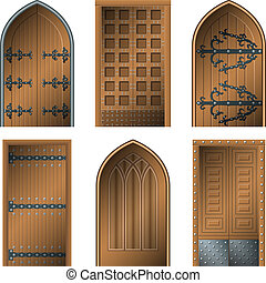 drzwi, wieczność, środek