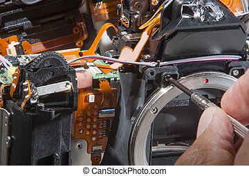 Dslr camera repair