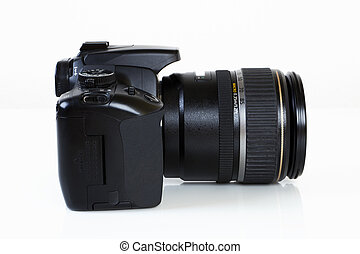 DSLR Camera - side view - Digital Single Lens Reflex Camera...