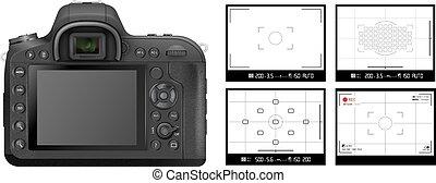 DSLR camera Viewfinder