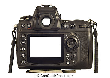 DSLR Camera With Blank LCD