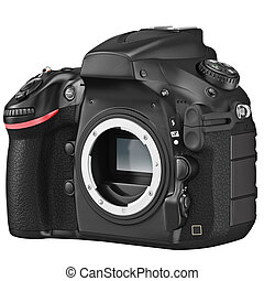 DSLR camera without lens