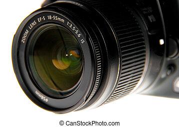 dslr lens close up - Dslr camera lens close up view
