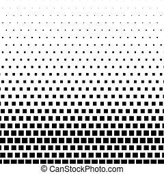 dtp, graphic., genérico, abstratos, halftone, prepress, pronto, monocromático, concepts., elemento, ou, retângulo