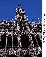 du, bruselas, maison, roi, belgium.