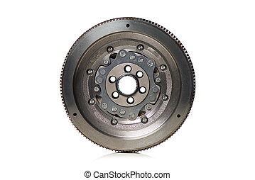 Dual-Mass Flywheel front view on white background