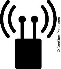 Dual omni antenna symbol