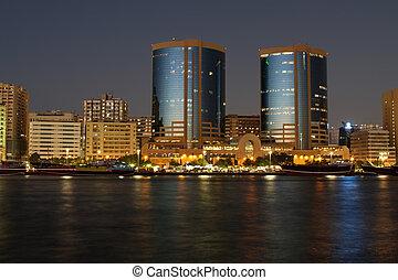 Dubaï, riachuelo