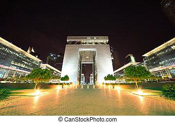 DUBAI - APRIL 18:The Gate - main building of Dubai ...