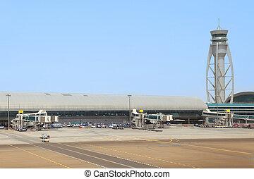 DUBAI - APRIL 19: Dubai International Airport on April 19,...