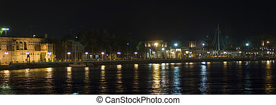 Dubai Creek Nightscape