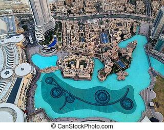 Dubai Downtown District, UAE - Dubai Downtown District...