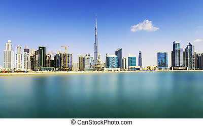 Dubai Downtown - Dubai skyline, United Arab Emirates