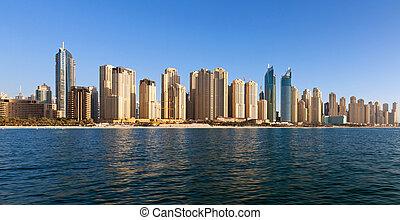 Dubai, Jumeirah Beach Residence - Dubai, the Jumeirah Beach...