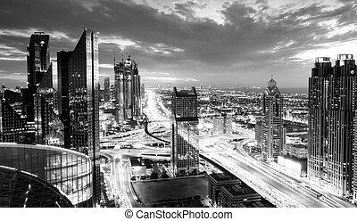 Dubai rush hour
