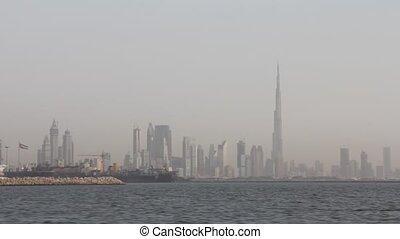 Dubai Seen From Boat