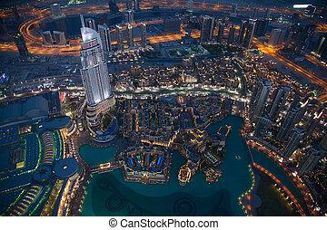 Dubai - DUBAI, UAE - APRIL 25: Downtown Burj Dubai April 25,...