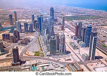 Dubai - DUBAI, UAE - APRIL 27: Downtown Burj Dubai April 27...
