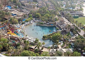 DUBAI, UAE - AUGUST 27: The Wild Wadi Water Park. It is ...
