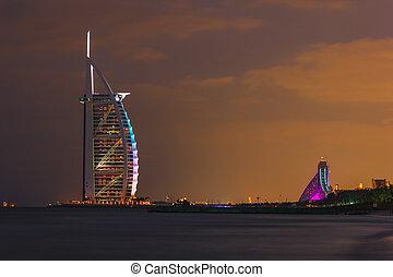 Burj Al Arab hotel on Nov 17, 2012 in Dubai