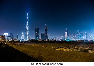 dubai, uae, -, noviembre, 13:, burj, khalifa, en, noviembre, 13, 2012, en, dubai, uae., burj, khalifa, es, currently, el, el más alto, edificio, en, el mundo, en, 829.84, m, (2, ft).