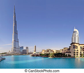 DUBAI, UAE - OCTOBER 23: Burj khalifa, the highest building ...