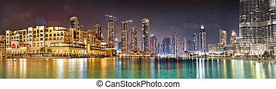 DUBAI, UAE - OCTOBER 23: Burj khalifa, the highest building in t