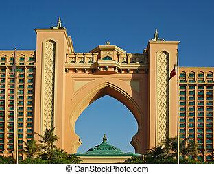 Atlantis, the Palm hotel in Dubai, UAE