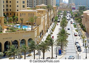 DUBAI, UAE - SEPTEMBER 12: The Walk at Jumeirah Beach...