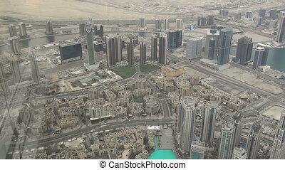 Aerial view of Downtown Dubai