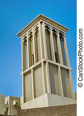Dubai Wind Tower - Arabic Architecture
