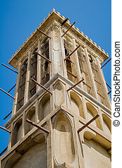 Dubai Wind Tower - Traditional Arabic Architecture