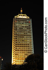 Dubai World Trade Center - The Dubai World Trade Centre at...