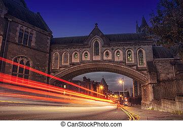 dublín, por la noche
