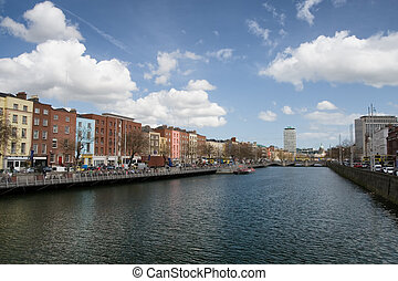 Dublin Cityscape in Ireland