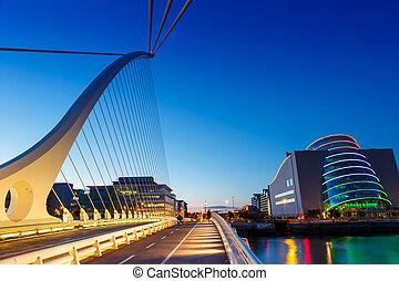 Dublin Ireland Samuel Beckett Bridge