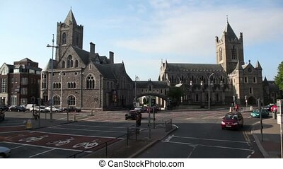 Christ Church anglican cathedral - DUBLIN - JUNE 10: Christ...