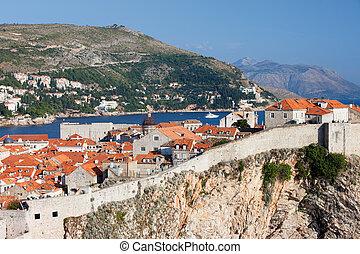 dubrovnik, croatia, 古い 都市