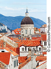 Dubrovnik, Croatia - Fortress of Dubrovnik on the Adriatic ...