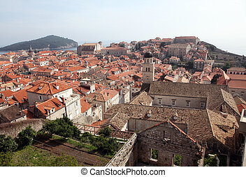 dubrovnik, croatia, franciscan, 修道院, 古い 都市