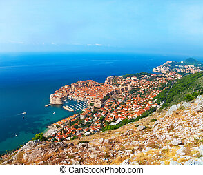 Dubrovnik from the mountain