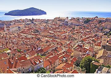 Dubrovnik Old Town and Lokrum island, Dubrovnik, Croatia