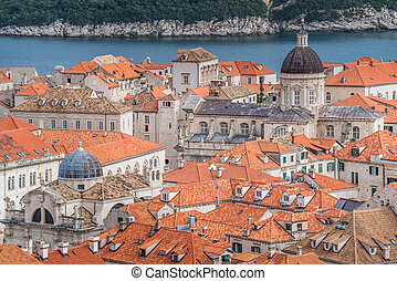 Dubrovnik Old Town architecture