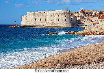 Dubrovnik Old Town in Croatia