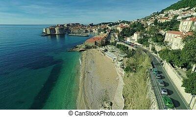 Dubrovnik old town panorama