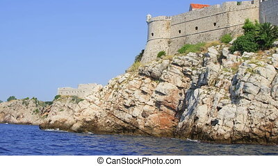 Dubrovnik old town walls